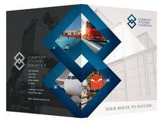 Blue Diamond Logistics Corporate Presentation Folder Template  http://www.companyfolders.com/design/blue-diamond-logistics-corporate-folder-template