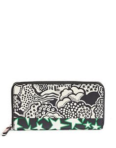 Marc Jacobs Landscape Leather Zip Phone Wristlet In Rutabaga Multi Passport Cover, Marc Jacobs Bag, Logo Stamp, Cow Leather, Card Wallet, Wallets For Women, Fashion Handbags, Cosmetic Bag, Continental Wallet