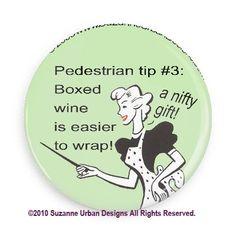 Funny Wine Snob Fridge Magnet for Wine Fans by SmirkingGoddess