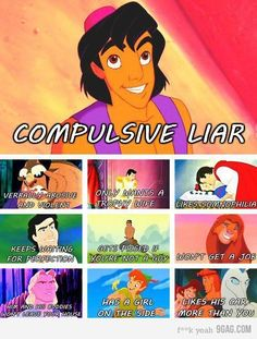 Truth Behind Disney Male Characters!!!