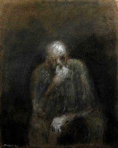 Zoran Music, Autoportrait, 1997.