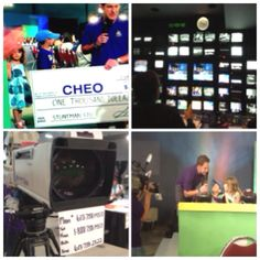 Love being part of #CHEOtelethon Charity, Flat Screen, Tv, Blood Plasma, Television Set, Tvs, Television