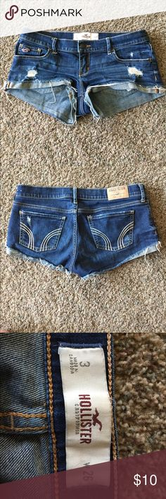 Hollister Shorts Short distressed shorts from Hollister Hollister Shorts Jean Shorts