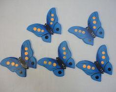 Quinteto de borboleta - Madeira