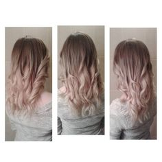 Cold Blonde Ombre Hair