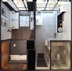 Apartment Living Room Design Tiny House 30 Ideas For 2019 Tiny House Living Room Apartment Design House Ideas living room Tiny Studio Apartment Floor Plans, Studio Apartment Layout, One Room Apartment, Small Studio Apartments, Small Apartment Design, Studio Apartment Decorating, Small Apartment Plans, Studio Layout, Apartment Ideas
