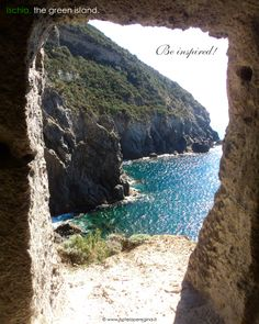 A window on Paradise...   #baiadipelara #ischia #italy #greenisland #beinspired