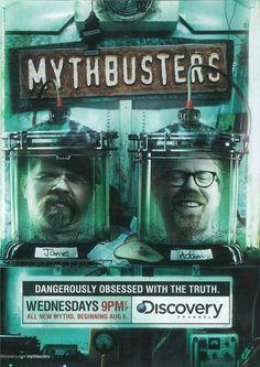 MythBusters 11x17 TV Poster (2003)