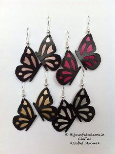 Bijou Nespresso: boucles d'oreilles papillon