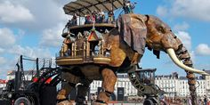 Elephant in the Steampunk Wonderland of France!
