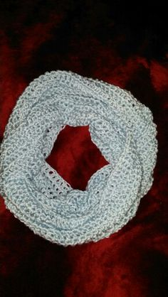 Light Blue Infinity Scarf