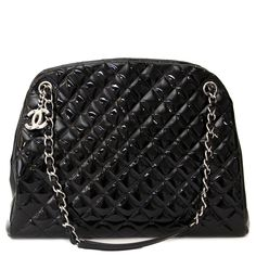 acf6f361c252 Labellov Chanel Black Patent Leather Quilted Bag ○ Buy and Sell Authentic  Luxury