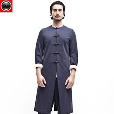 True man. Chinese style retro high-end series long Tang suit
