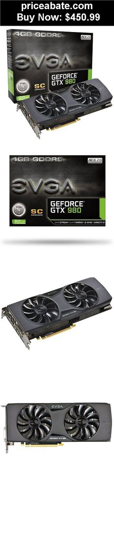 Computer-Parts: NEW EVGA GeForce GTX 980 Superclocked ACX 2.0 04G-P4-2983-RX Video Card Graphics - BUY IT NOW ONLY $450.99