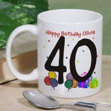Personalized Happy Birthday Ceramic Coffee Mugs Happy Birthday Coffee, Happy Birthday Olivia, Personalised Gift Shop, Birthday Parties, Birthday Gifts, Party Time, Coffee Mugs, Birthdays, Presents