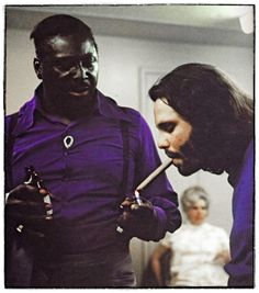 The best picture of Albert King & Jim Morrison you'll see all day.