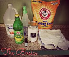 Spray for kitchen cleaning.  Bath & sink paste.