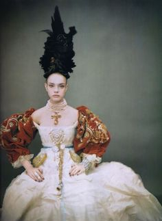 photographed by Paolo Roversi: