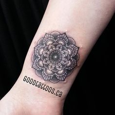 mandala cover up wrist tattoo - Google Search