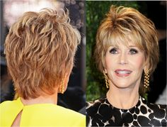 short hairstyles for older women 2014 with glasses
