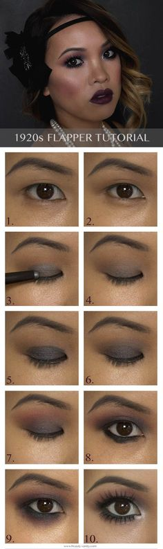 1920s Flapper Makeup Tutorial