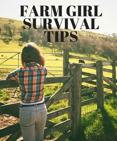 There are times when you might feel like the only woman farmer in the world. But, you aren't alone. Here are our best farm girl survival tips!