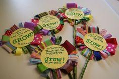 Teacher Appreciation Ribbon Flowers