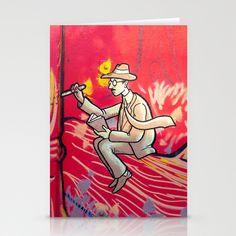 Fernando Pessoa, Lisbon Stationery Cards by Sébastien BOUVIER - $12.00