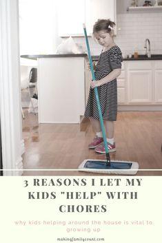 kids chores, kids helping with chores, family life, motherhood, mom life, #kidchores, #motherhood, #parentingkidsright, #parentingdoneright, #familylife