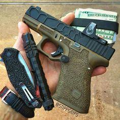 Custom Glock with Trijicon RMR