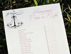 honeymoon price is right