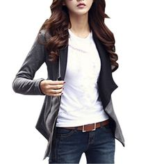 >> Click to Buy << Womens Warm Lapel Casual Coat Long Sleeve Jacket Outwear Cardigan Tops  XL #Affiliate