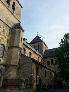 Heerlen, the Netherlands. Church town centre.