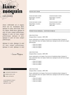 Buy Resume Templates Gorgeous Free Cosmetology Resume Template Cakepins  Stuff To Buy
