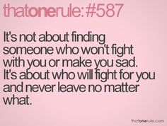 All relationships go through trials...just don't run away. Running away is the easy way out..too many take it.