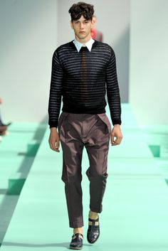 Paul Smith Spring 2013 Menswear Collection Slideshow on Style.com