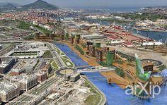 Все реки текут...- урбанистический конкурсный проект: архитектура, модернизм, 12-17 эт | 36-50м, 5000 м2 и более, фасад - ж/б, град. план, градостроительство #architecture #modernism #1217floors_2650m #5000m2иболее #facade_ironconcrete #developmentplan #townplanning arXip.com