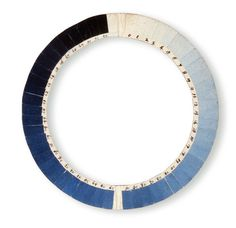 Cyanometer circa 1789, an instrument that measures the blueness of the sky