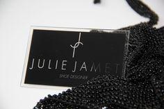 Carte de visite Julie Jamet Shoe Designer by Cyril Bagnost Creation