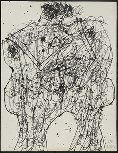 Jean Dubuffet. Bodies of Women (Corps de dames). 1950
