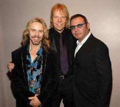 Tommy, JY & Chuck...Three originals!  Still rockin after 40 years