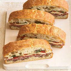 Pressed Italian Cold-Cut Sandwich