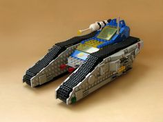 Classic Space Tank  #LEGO #MOC #space