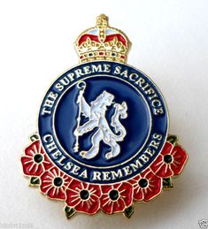 Chelsea Remembers The Supreme Sacrifice cut by me Chelsea Blue, Chelsea Fc, I Am Blue, Best Club, Chelsea Football, Best Player, I Am Awesome, Blues, Soccer
