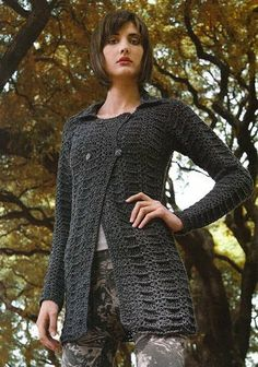 Receitas de Crochet: Casaco