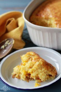 Sweet Corn Spoonbread - Pinterest