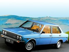 Fiat 131 Mirafiori  I used own one of these. Same colour and interior. Love this car