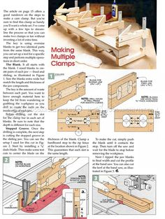 #2499 DIY Cam Clamp - Clamp and Clamping