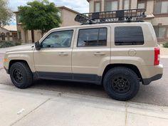 Jeep Patriot, Black Rims, Vehicles, Car, Automobile, Cars, Vehicle, Tools