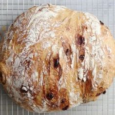 Cranberry-Walnut No-Knead Bread